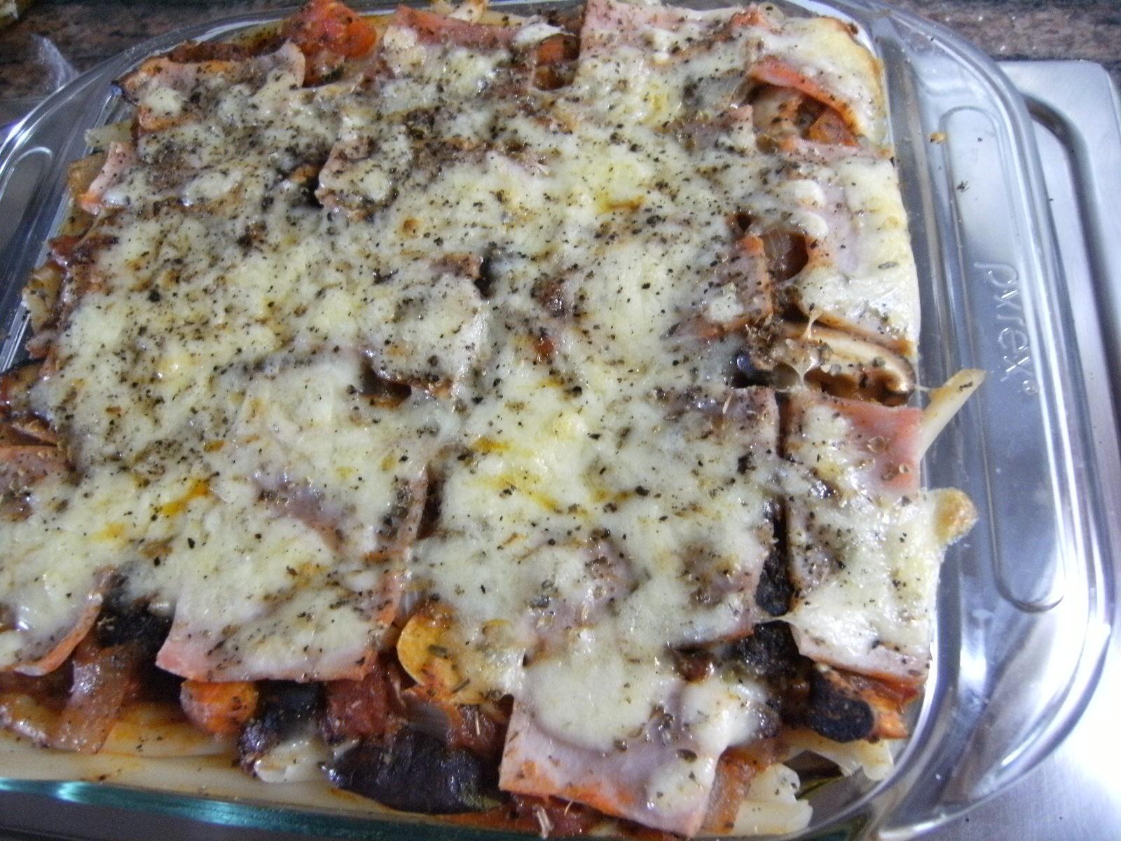 fertige Makkaroni-Lasagne