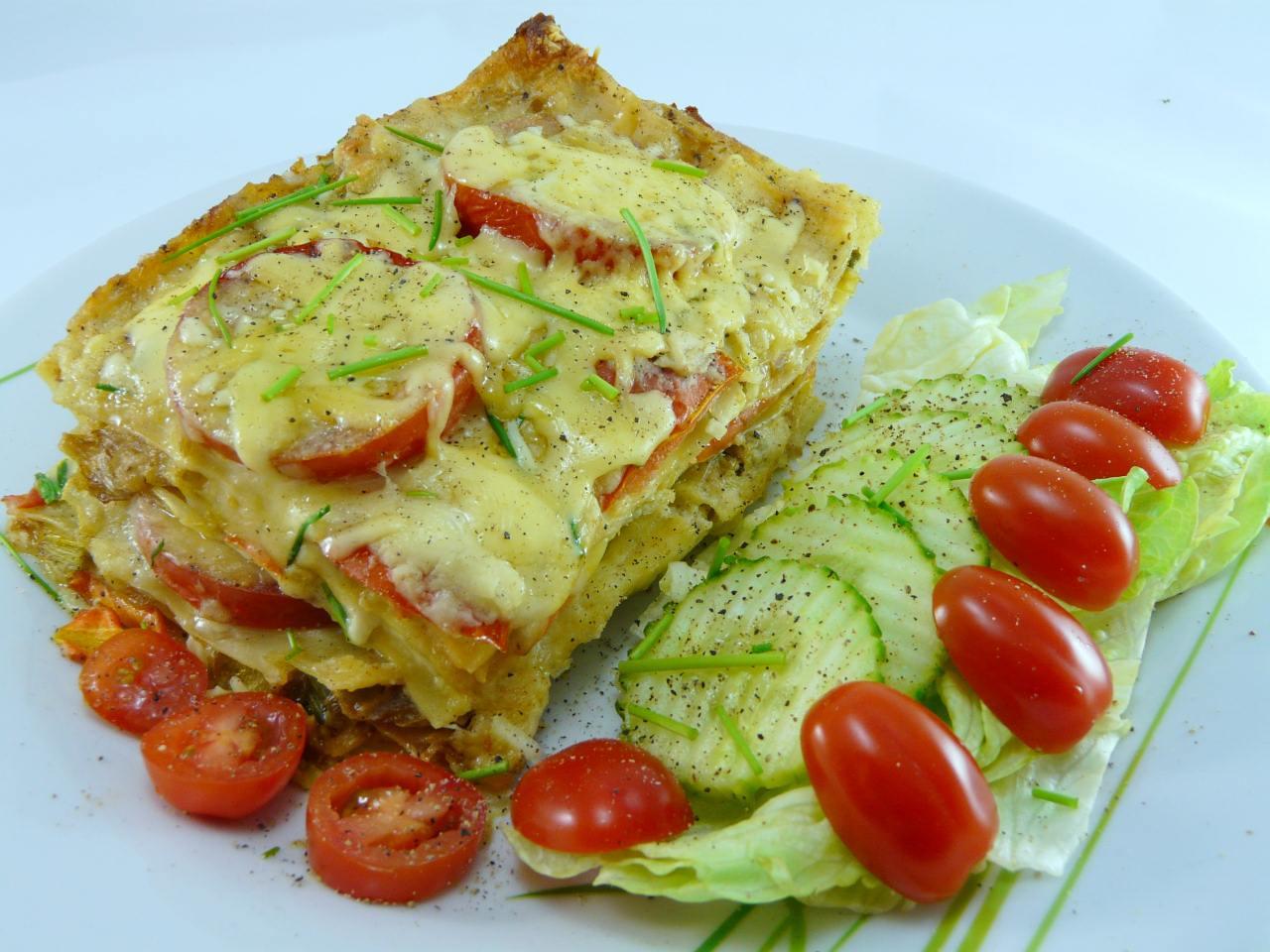 Lasagne Gemüse