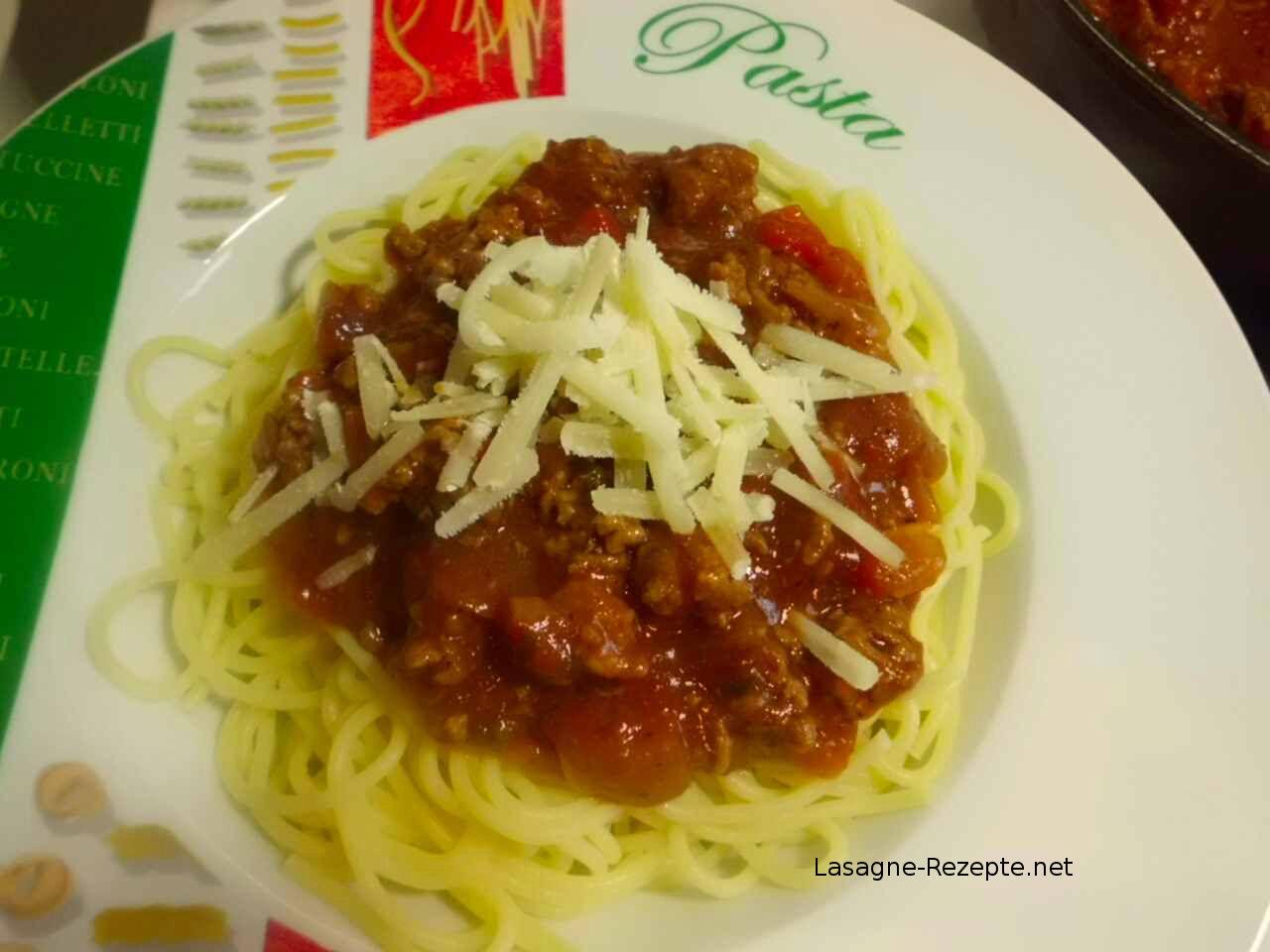 Pasta Sauce mit Fleisch