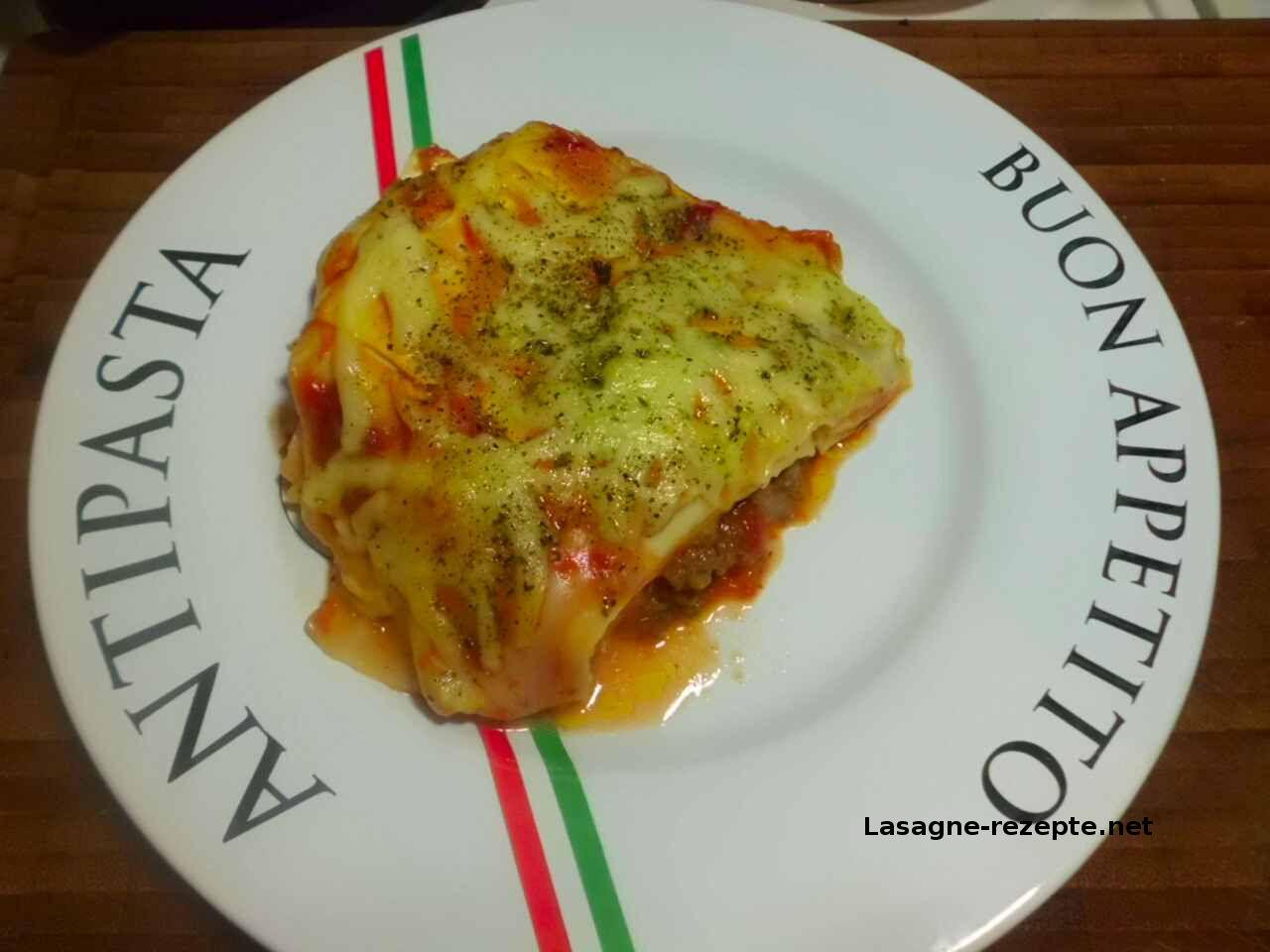 Rezept Hackfleisch Lasagne