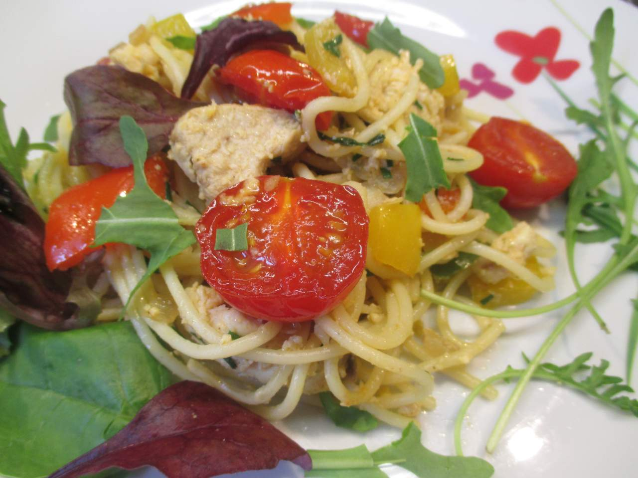 Spaghetti-Pfanne