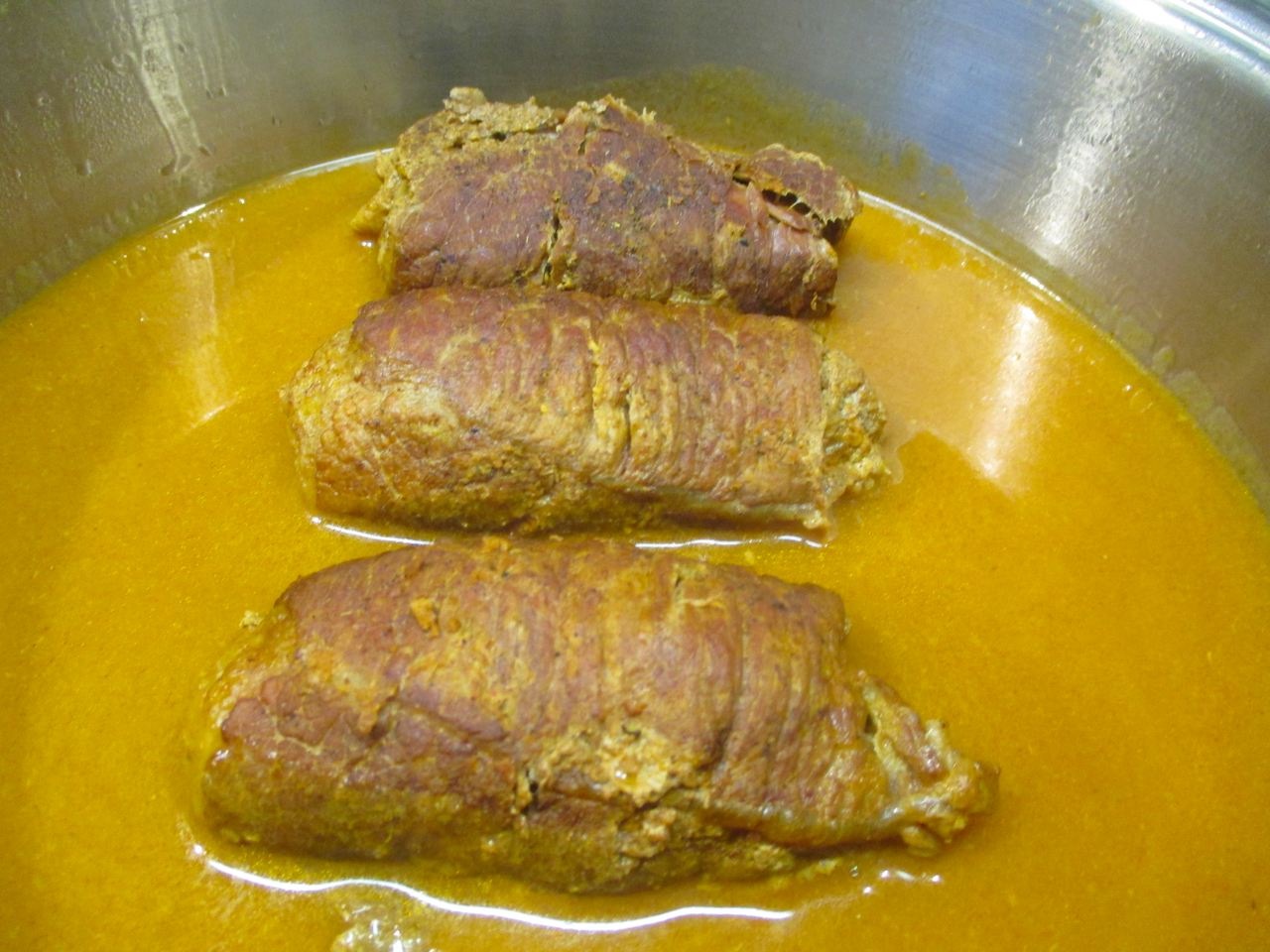 Beef Rouladen Rezept mit feiner Sauce